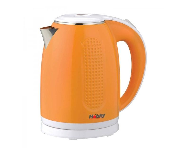 Βραστήρας Hobby ΚΤ-720 (1,7lt, 2200W) (Πορτοκαλί - Λευκό) Ο βραστήρας Hobby KT-720 έχει ισχύ 2200W, χωρητικότητα 1,7lt διατηρεί την θερμοκρασία νερού στους 90 βαθμούς ακόμα και μισή ώρα μετά το βράσιμο και έχει προστασία από την υπερθέρμανση με σύστημα αυτόμ