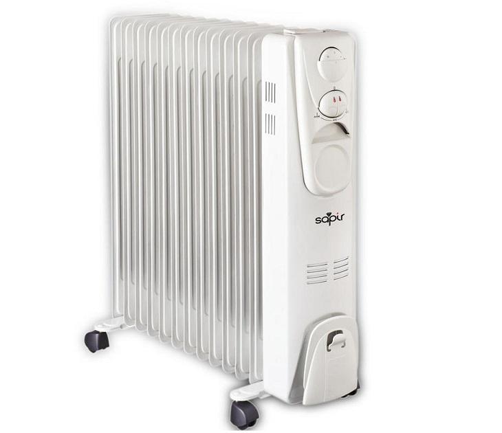 Ηλεκτρικό Καλοριφέρ Λαδιού 2500W Sapir SP-1971-F13 είδη θέρμανσης   ψύξης