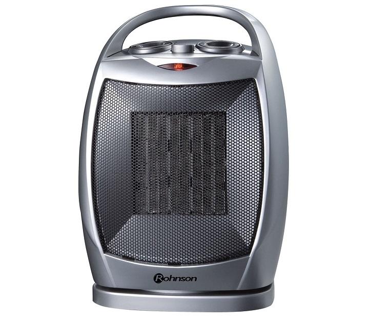 Αερόθερμο Rohnson Ceramic 1500W MOD R-8057 είδη θέρμανσης   ψύξης