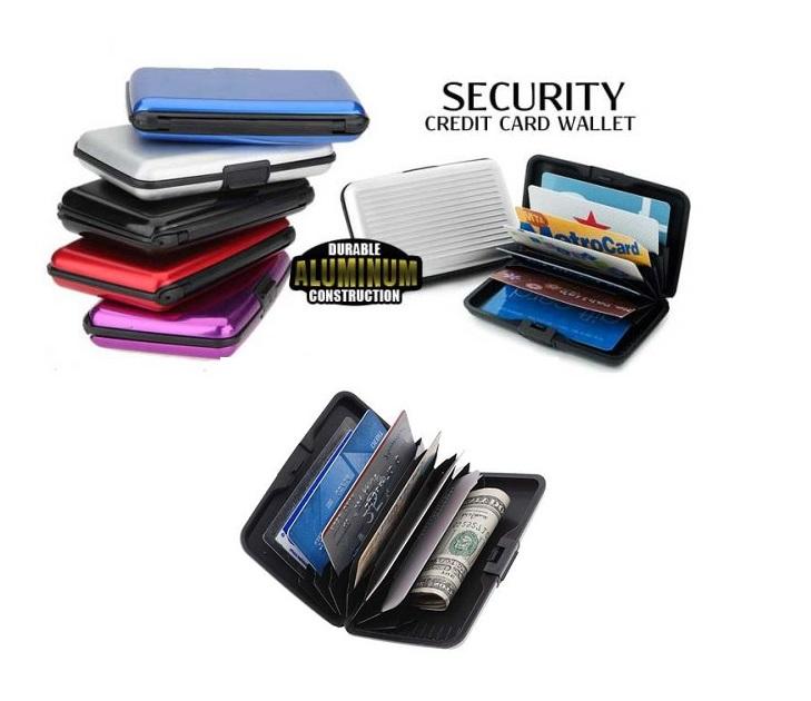 Σετ 2 Πορτοφόλια Ασφαλείας Πιστωτικών Καρτών απο Αλουμίνιο gadgets