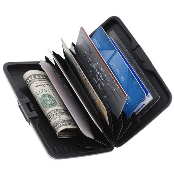 d354f39398 Σετ 2 Πορτοφόλια Ασφαλείας Πιστωτικών Καρτών απο Αλουμίνιο
