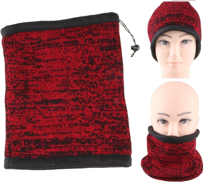 2σε1 Μάλλινος Λαιμός -Φοριέται & σαν Σκούφος-Επένδυση Fleece ΟΕΜ gadgets