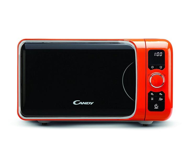 Φούρνος Μικροκυμάτων Candy EGO-G25DCO (Πορτοκαλί) μικρές οικιακές συσκευές