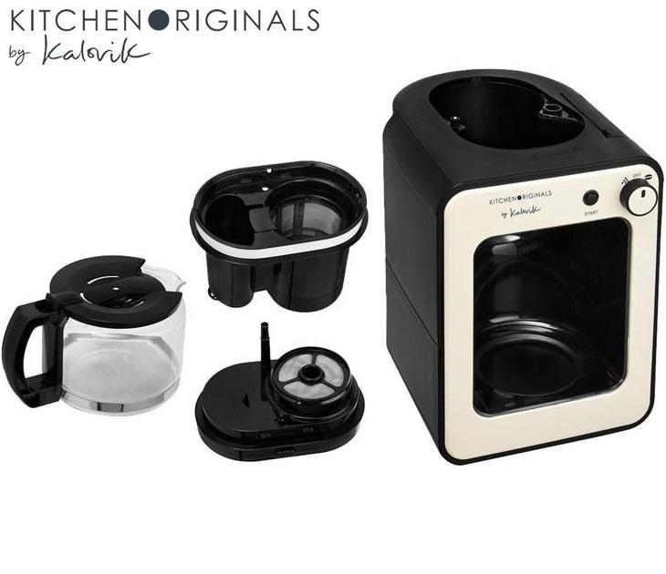 Καφετιέρα με Ενσωματωμένο Μύλο Kalorik TKG CCG 1001 KTO μηχανές καφέ