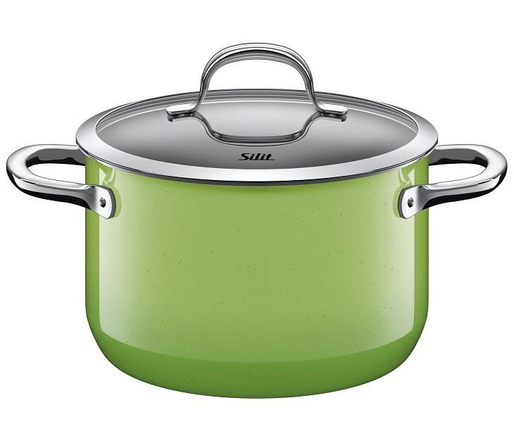 Χύτρα 20εκ. Silit Passion Green µε Καπάκι σκεύη μαγειρικής