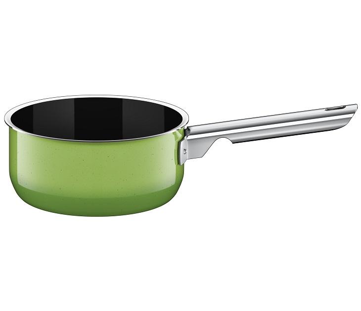 Κατσαρολάκι Γάλακτος 16εκ Silit Passion Green Χωρίς Καπάκι σκεύη μαγειρικής