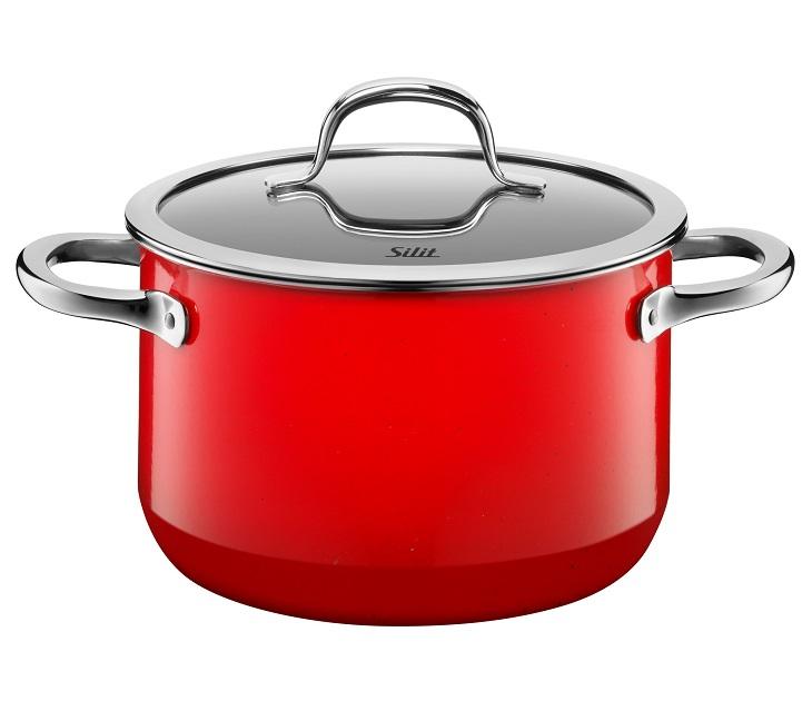 Χύτρα 20εκ. Silit Passion Red µε Καπάκι σκεύη μαγειρικής