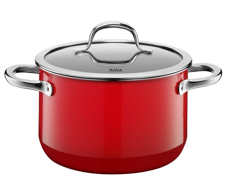 Χύτρα 24εκ. Silit Passion Red µε Καπάκι σκεύη μαγειρικής