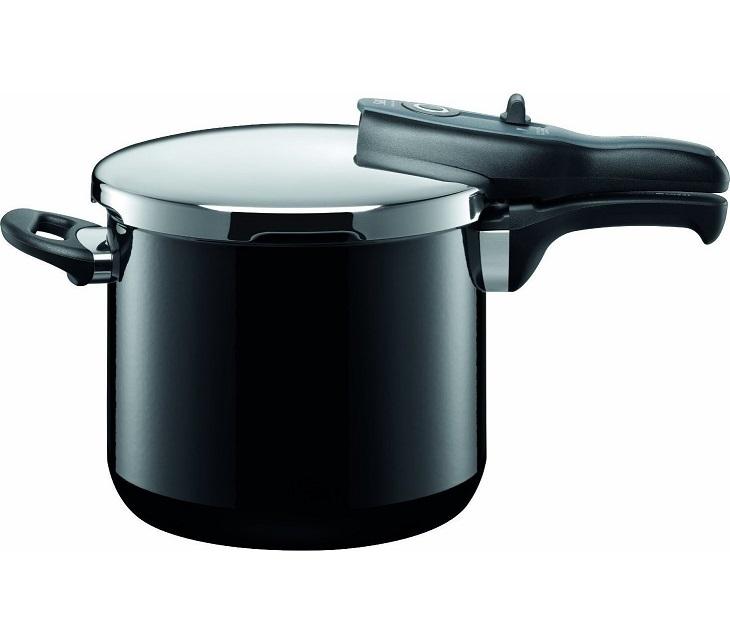 Χύτρα Ταχύτητας 6,5Lt Silit Sicomatic T-Plus Black σκεύη μαγειρικής