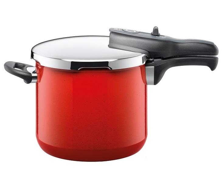 Χύτρα Ταχύτητας 6,5Lt Silit Sicomatic T-Plus Energy Red σκεύη μαγειρικής