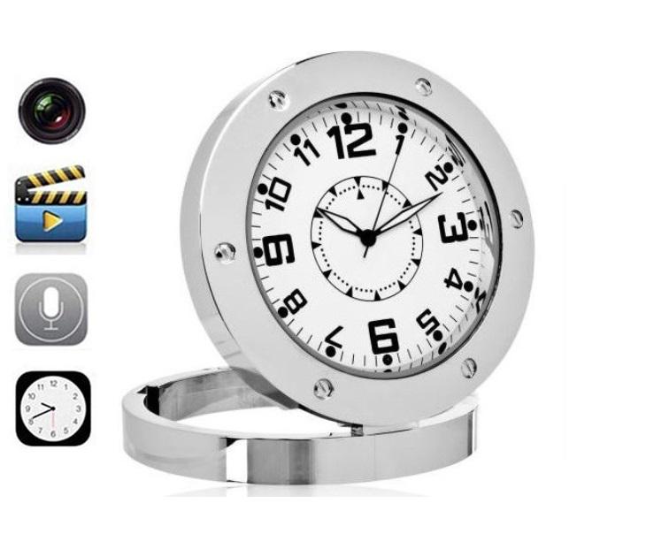 Επιτραπέζιο Ρολόι με Κρυφή Κάμερα & Ανίχνευση Κίνησης OEM gadgets