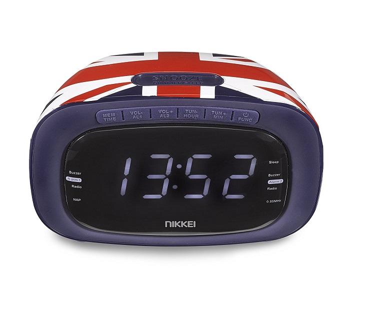 Ψηφιακό Ράδιο - Ξυπνητήρι Nikkei NR200UK ήχος   εικόνα