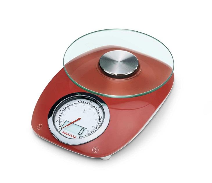 Ψηφιακή Ζυγαριά Κουζίνας 5kg Soehnle 66229 Vintage Style Red είδη σπιτιού