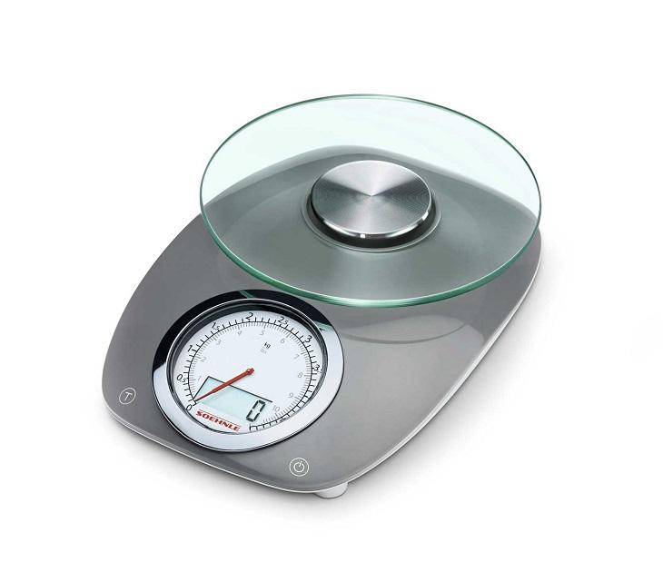 Ψηφιακή Ζυγαριά Κουζίνας 5kg Soehnle 66231 Vintage Style Grey είδη σπιτιού