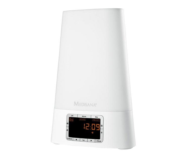 Ξυπνητήρι Medisana WL450 Wake Up Light με Επιλογή Μουσικής ή ΜΡ3 ήχος   εικόνα