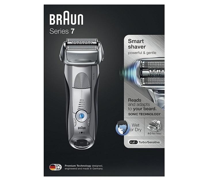 Ξυριστική Μηχανή Braun Series 7 7893S Wet Dry 4a6da6aefac