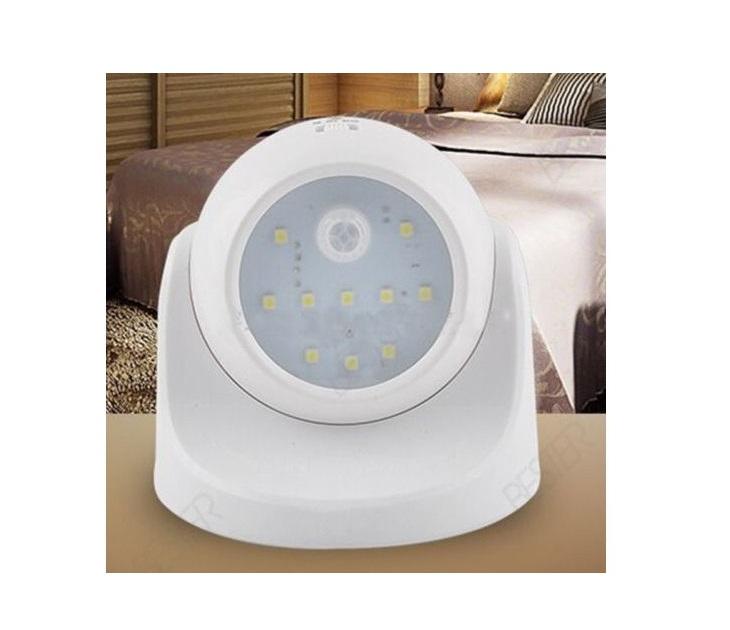 Φως Με Αισθητήρα Κίνησης Με 10 Led & Χωρίς Καλώδιο OEM
