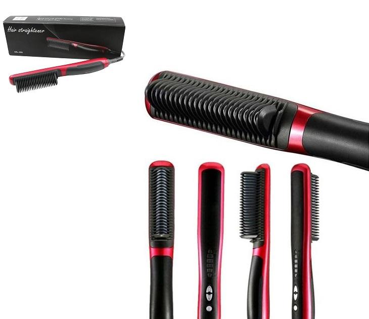 Κεραμική Θερμαινόμενη Ισιωτική Βούρτσα Μαλλιών - Hair Straighten προσωπική περιποίηση