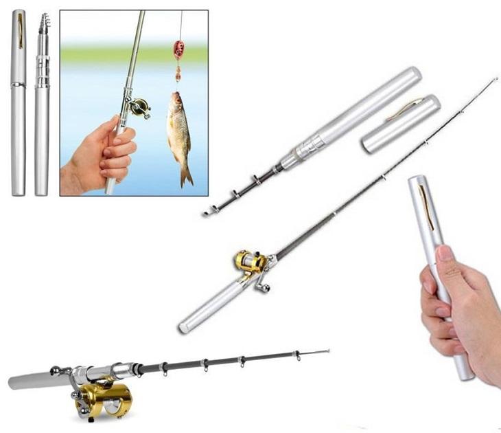Φορητό Καλάμι Ψαρέματος Σε Μέγεθος Στυλό Με Μηχανισμό & Πετονιά