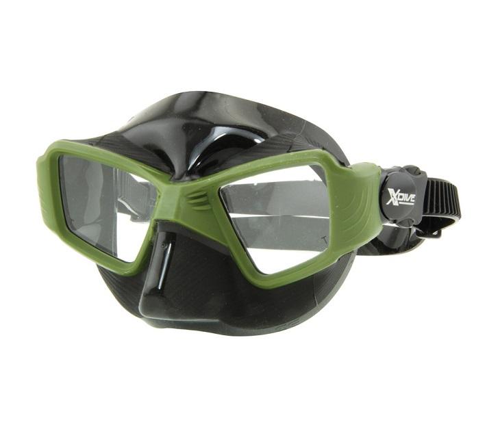 Μάσκα Σιλικόνης Xdive Face Green 61081