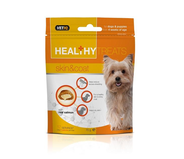 Λιχουδιά M&C Skin & Coat για Σκύλους και Κουτάβια 70g λιχουδιές σκύλου