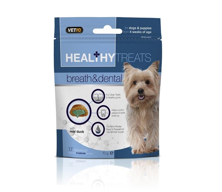 Λιχουδιά M&C Breath & Dental για Σκύλους και Κουτάβια 70g λιχουδιές σκύλου