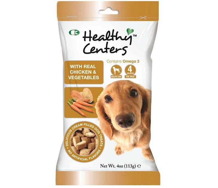 Λιχουδιά M&C Healthy Centres με Κοτόπουλο και Λαχανικά 113g λιχουδιές σκύλου