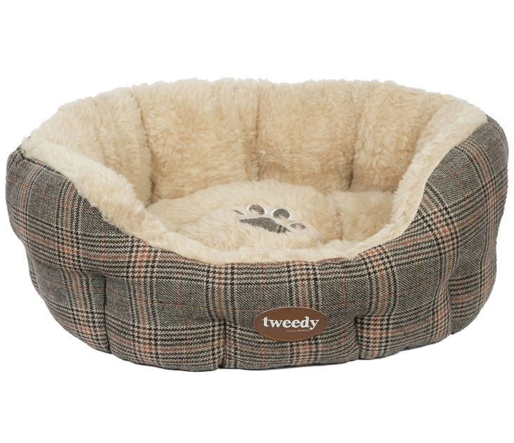 Κρεβάτι Σκύλου Pet Brands Tweedy Luxury Donut (70x20εκ) κρεβάτια σκύλου