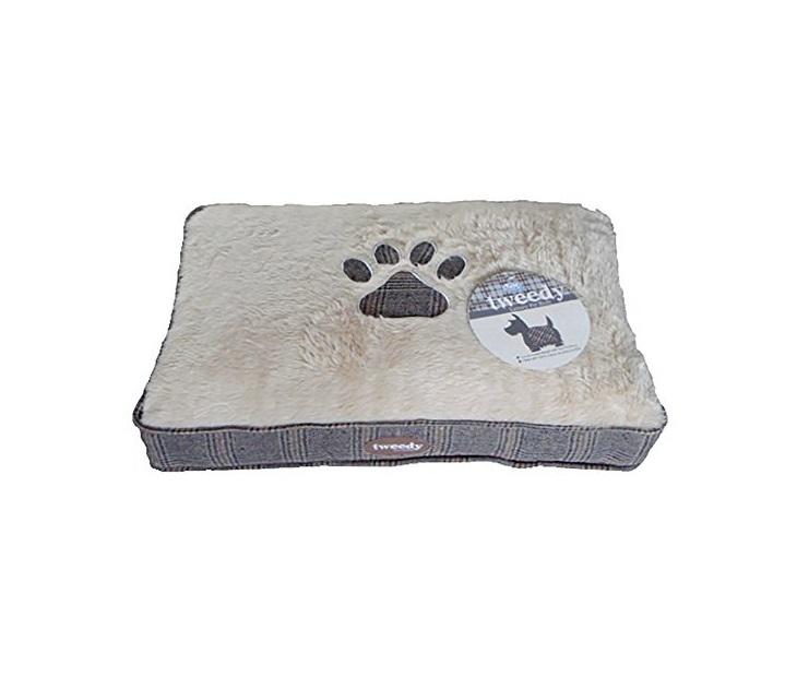 Κρεβάτι Σκύλου Pet Brands Tweedy Luxury Mattress (74x55x8εκ) στρώματα σκύλου