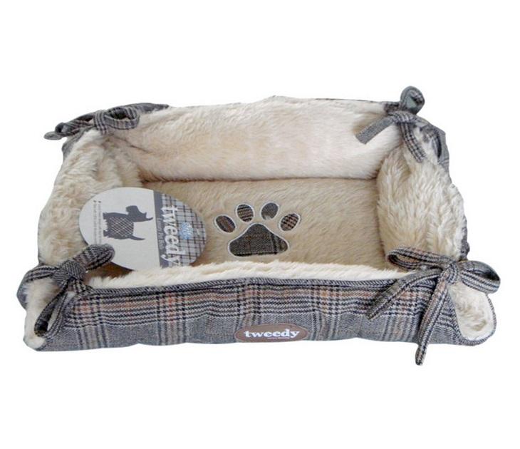 Κρεβάτι Σκύλου Pet Brands Tweedy Luxury Tie Bed (65x57x2εκ) κρεβάτια σκύλου
