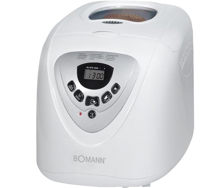 Αυτόματος Αρτοπαρασκευαστής Bomann BBA 566 (600W) μικρές οικιακές συσκευές