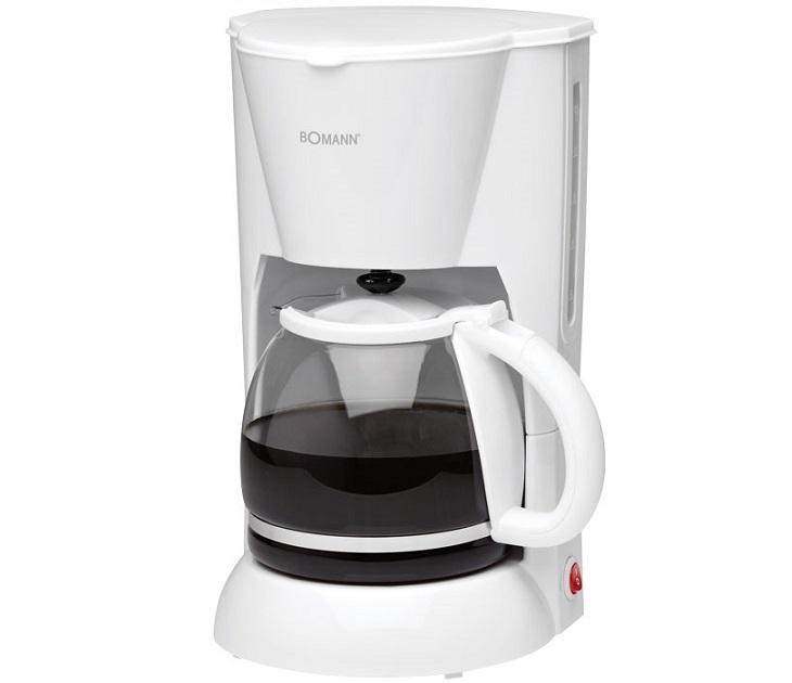Καφετιέρα Φίλτρου Bomann KA 183 CB White (1.5Lt - 900W) μηχανές καφέ