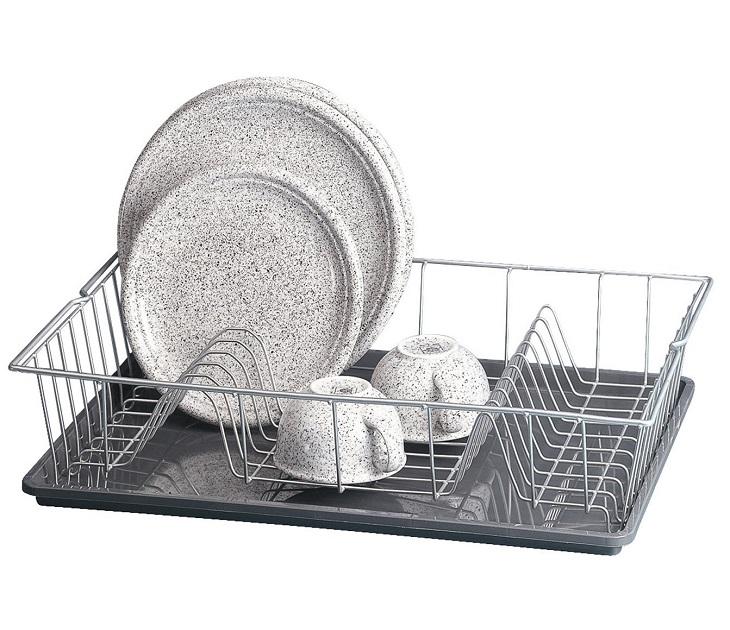 Στεγνωτήριο Πιάτων με Δίσκο Metaltex Polytherm Colonia ράφια   θήκες κουζίνας