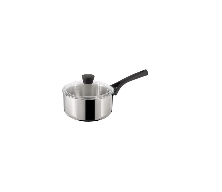 Κατσαρολάκι Γάλακτος με Γυάλινο Καπάκι Pyrex Expert Touch 18εκ σκεύη μαγειρικής