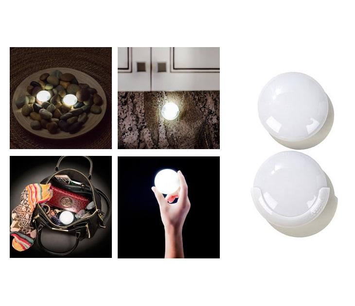 Σετ 2 φώτα LED για τσάντες & συρτάρια με ανίχνευση κίνησης gadgets