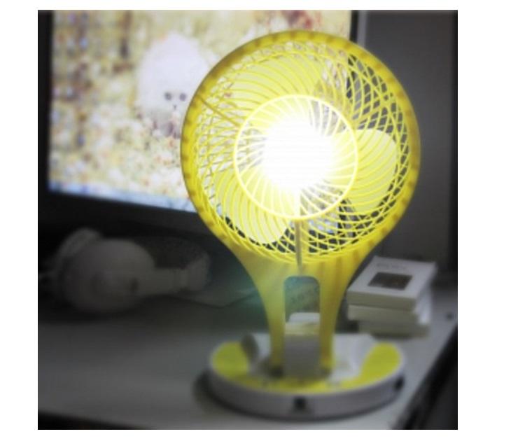Φορητός Μίνι Ανεμιστήρας με Φως 21 LED είδη θέρμανσης   ψύξης
