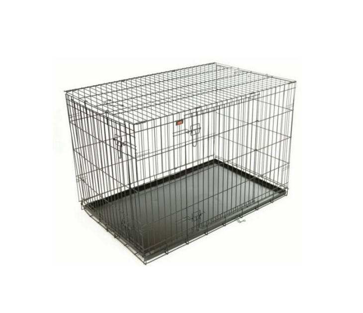 Συρμάτινο Κλουβί Μεταφοράς Σκύλου Rac RACPB2 (75X48X54εκ) κλουβία σκύλου