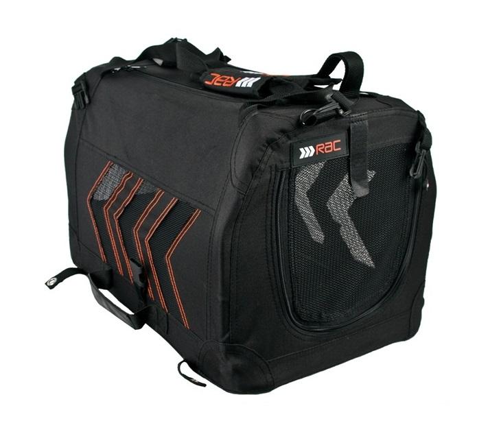Τσάντα Μεταφοράς με Σιδερένιο Σκελετό Rac RACPB48 (51x33x31εκ) τσάντες μεταφοράς σκύλου