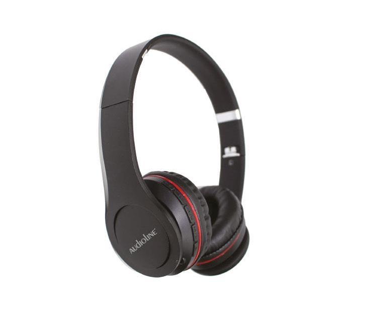 Ακουστικά On Ear Bluetooth Touch Audioline ΒΤ508 (Μαύρα) ακουστικά headset