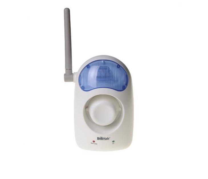Σειρήνα Ασύρματη Με Φλάς Home Safe 527SL συστήματα ασφαλείας