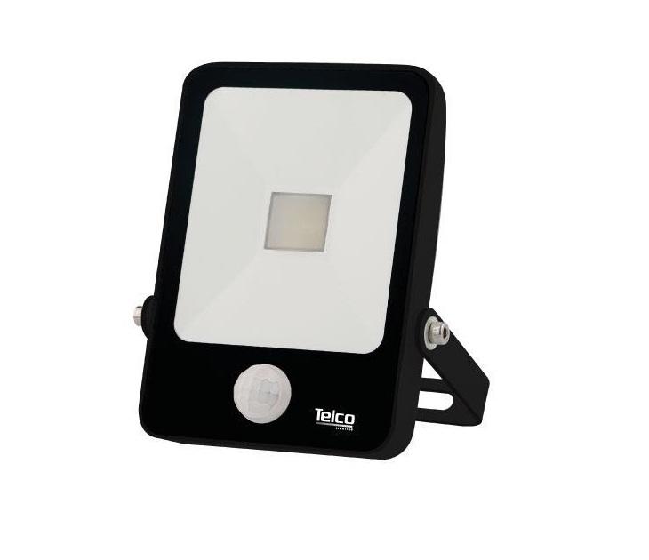 Προβολέας SMD LED Telco Sense με Ψυχρό Φώς Μαύρος (10W) ηλεκτρολογικός εξοπλισμός
