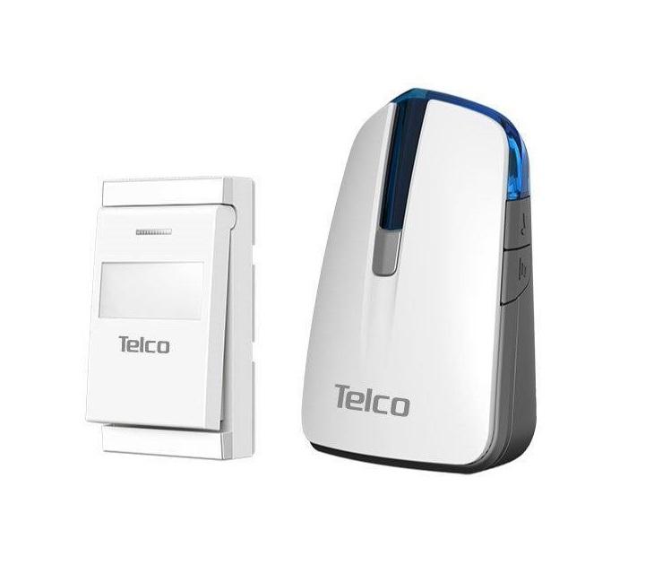 Κουδούνι Kinetic Ασύρματο Μπαταρίας Telco FAN-582P (Λευκό-Γκρί) ηλεκτρολογικός εξοπλισμός