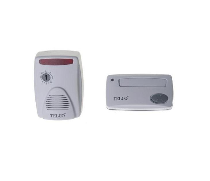 Κουδούνι Ασύρματο Ρεύματος Telco ML-7100 με Εμβέλεια 50μ. ηλεκτρολογικός εξοπλισμός