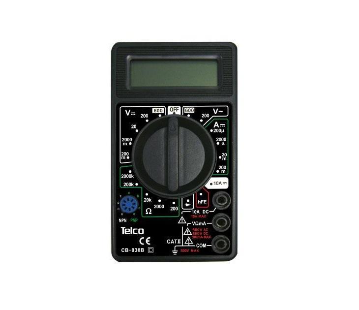 Πολύμετρο Ψηφιακό Telco CB-830B (Μαύρο) gadgets