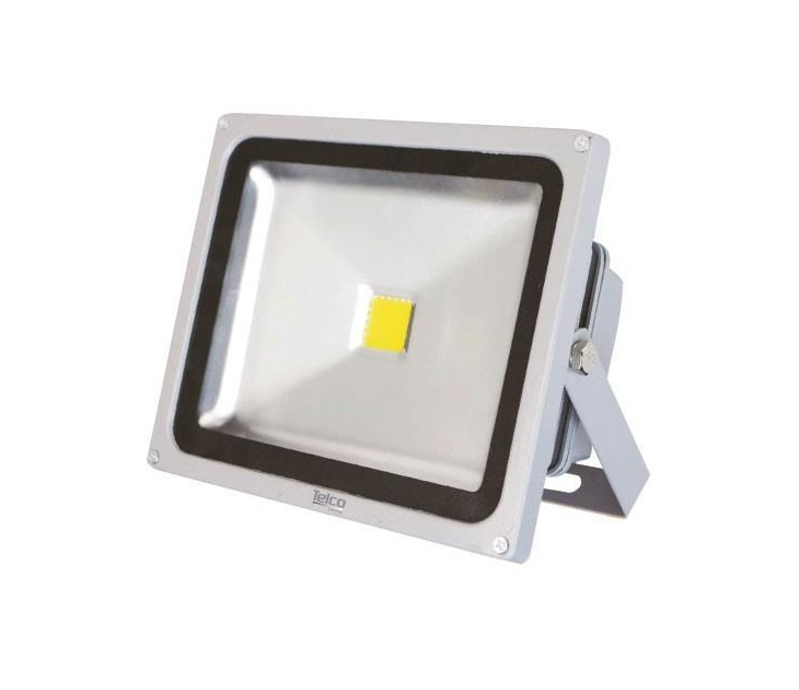 Προβολέας Engineering Cob LED (50W) με Θερμό Φώς (Γκρί) ηλεκτρολογικός εξοπλισμός