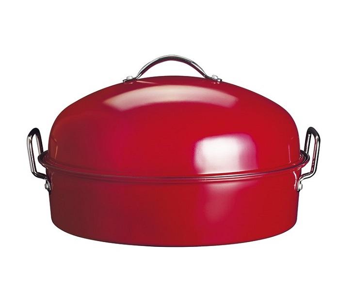 Γάστρα Αντικολλητική με Καπάκι Izzy Roaster (43εκ) σκεύη μαγειρικής