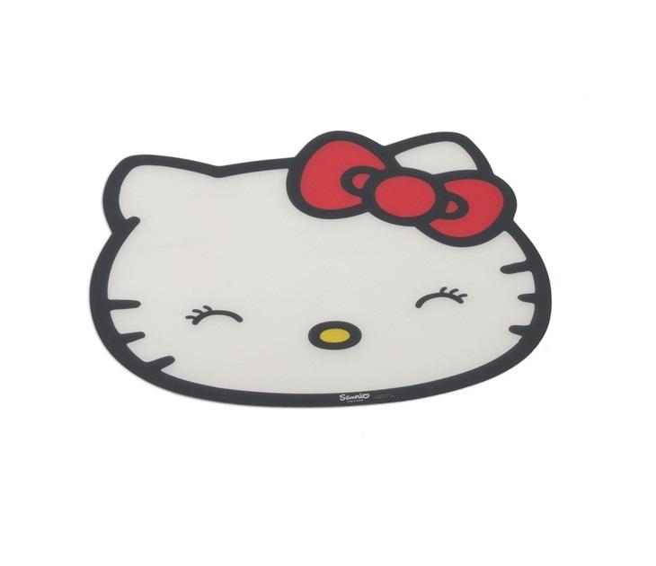 Σουπλά σε Σχήμα Hello Kitty HK34 (Λευκό) ταΐστρες   μπολ σκύλου