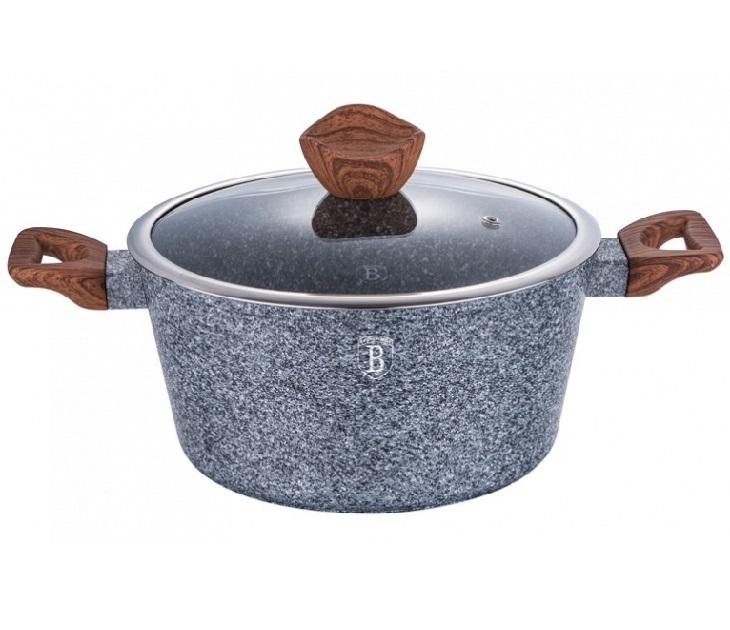 Κατσαρόλα Berlinger Haus BH-1196 (20εκ) Granit Marble Επίστρωση σκεύη μαγειρικής