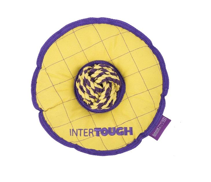 Frisbee από Σκληρό Καραβόπανο με Ενισχυμένες Ραφές Interact