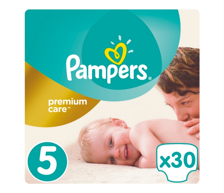 Πάνες Pampers Premium Care No 5 (Junior) 11-18 kg, 30 τμχ premium care